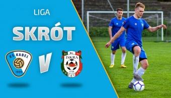 LIGA | Skrót meczu: Kabel Kraków - Iskra Krzęcin (11.05.2021)
